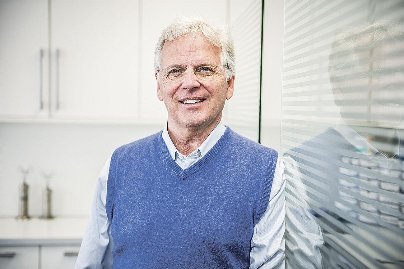 Porträt: Dr. med. Joachim Graf von Finckenstein