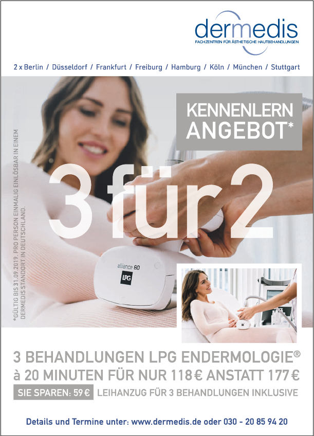 Anzeige: dermedis GmbH