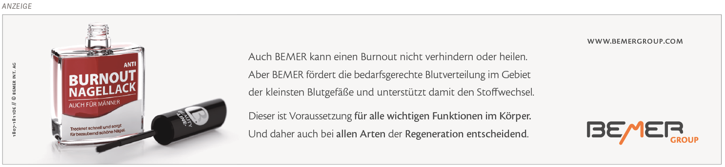 """Mikrozirkulation und Burn-out"""